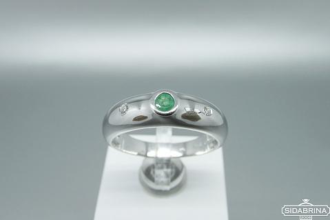 Žiedas su berilu - ZDM1499