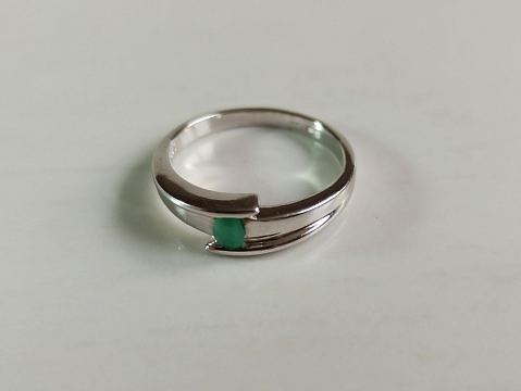 Žiedas su berilu - ZDM1577