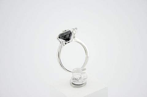 Žiedas su cirkoniais - ZDM047