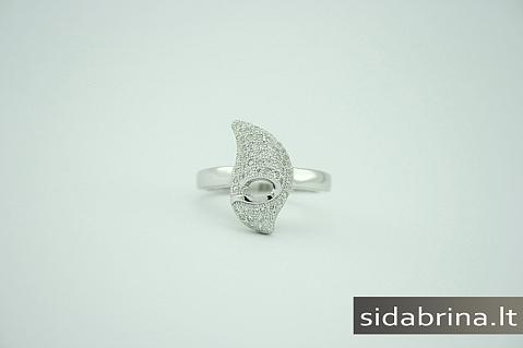 Žiedas su cirkoniais - ZDM164
