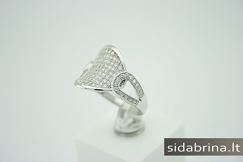 Žiedas su cirkoniais - ZDM179