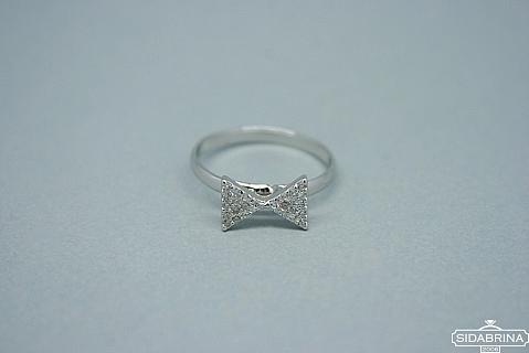 Žiedas su cirkoniais - ZDM399