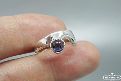 Žiedas su kianitu - ZDM1398