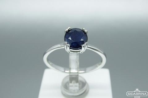 Žiedas su natūraliu akmenimi - ZDM995