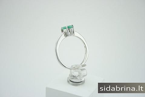 Žiedas su natūraliu akmeniu - ZDM212