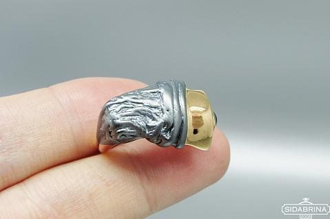 Žiedas su safyru - ZDM1260