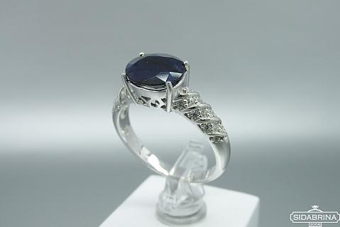 Žiedas su safyru - ZDM1497