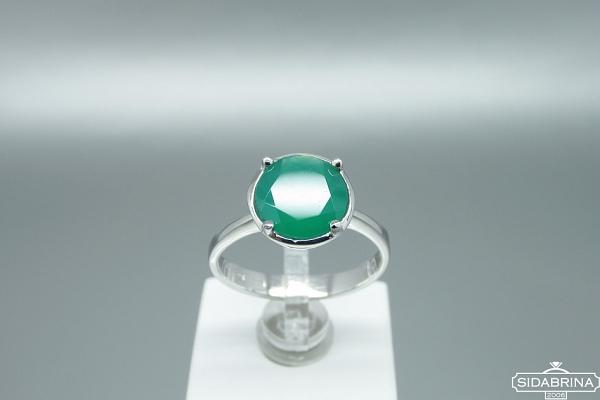 Žiedas su agatu - ZDM1541