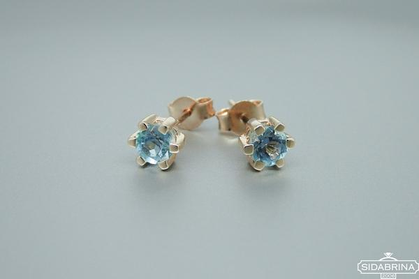 Auksiniai auskarai - AUA039