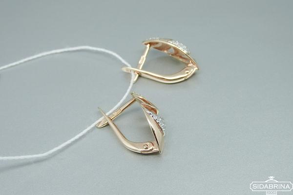 Auksiniai auskarai - AUA077