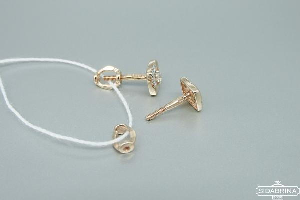 Auksiniai auskarai - AUA078