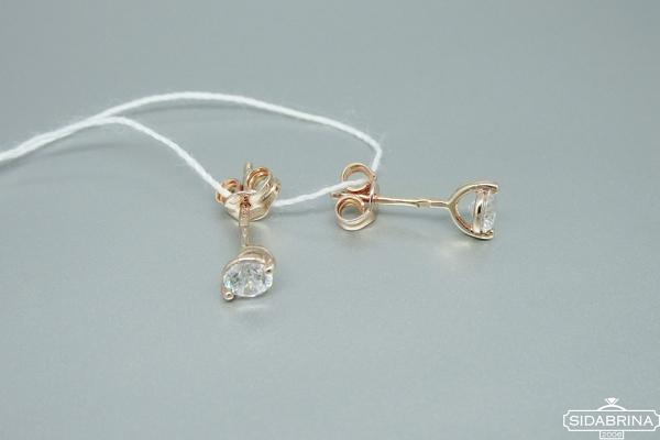 Auksiniai auskarai - AUA079