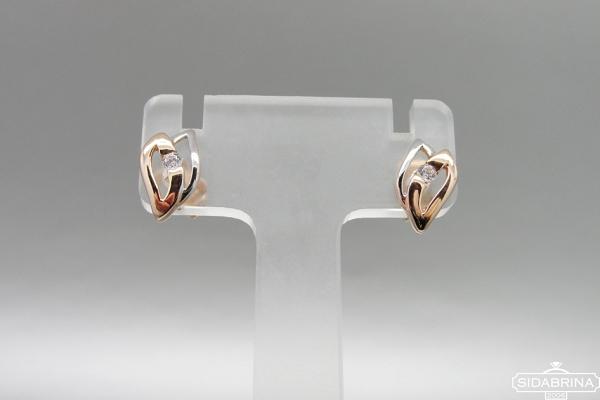 Auksiniai auskarai - AUA101