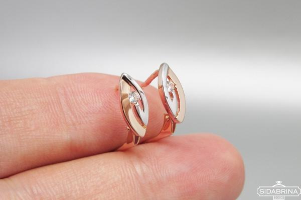 Auksiniai auskarai - AUA107