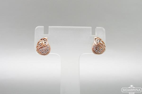 Auksiniai auskarai - AUA111