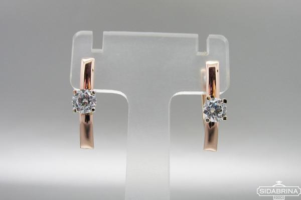 Auksiniai auskarai - AUA148