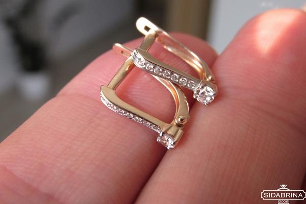 Auksiniai auskarai - AUA159