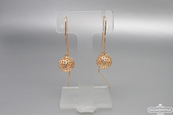 Auksiniai auskarai - AUA160