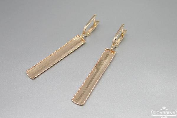 Auksiniai auskarai - AUA166