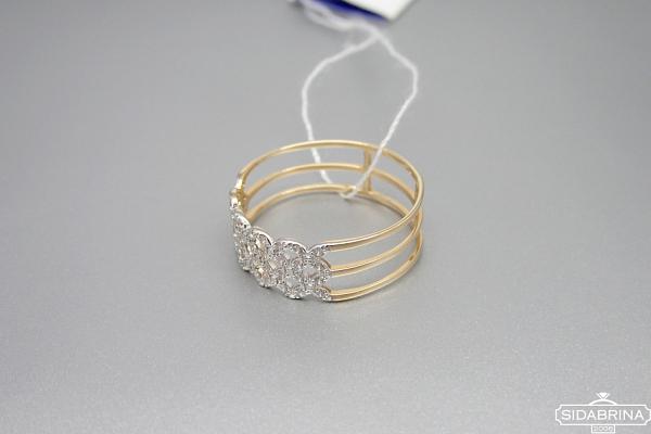 Auksinis žiedas - ZDA020