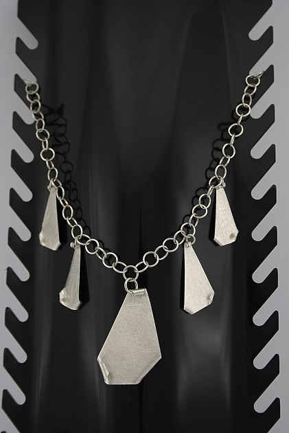 Itališkas sidabrinis kolje - KOL009