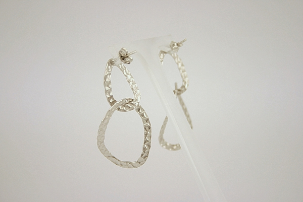 Itališki sidabriniai auskarai - AUM003