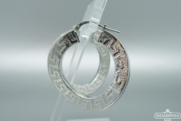Itališki sidabriniai auskarai - AUM004