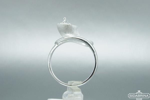Sidabrinis žiedas - ZDM1001