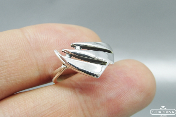 Sidabrinis žiedas - ZDM1025