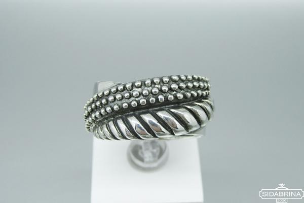 Sidabrinis žiedas - ZDM1102