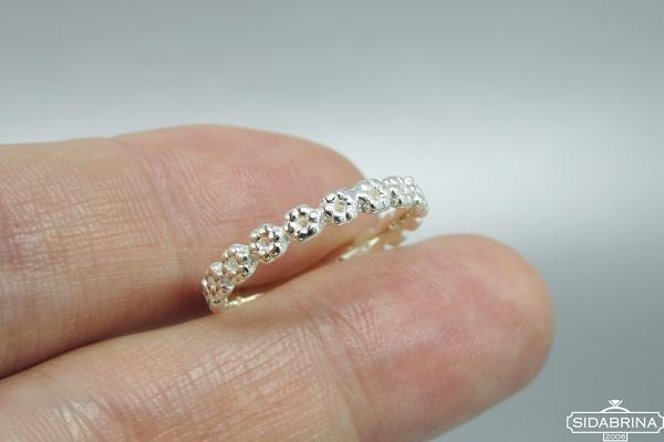 Sidabrinis žiedas - ZDM1381