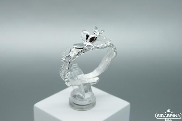 Sidabrinis žiedas - ZDM1389