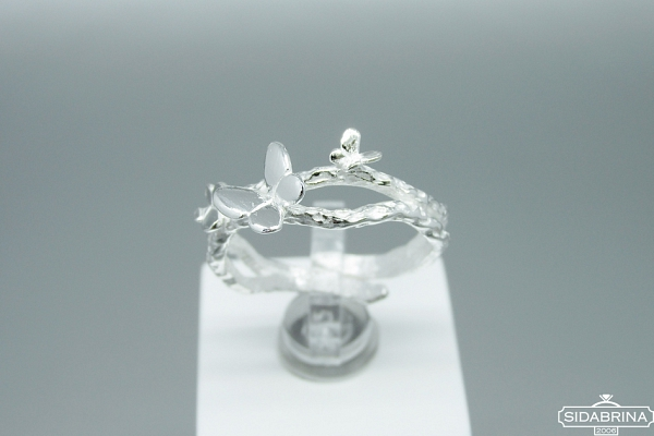 Sidabrinis žiedas - ZDM1394