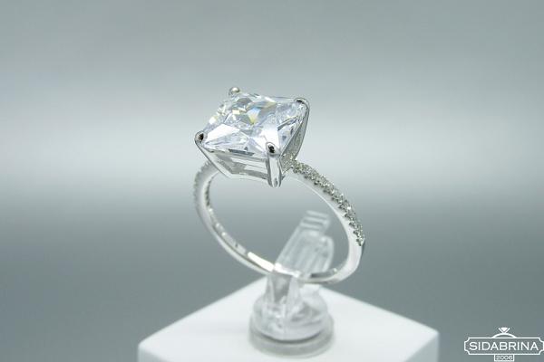 Sidabrinis žiedas - ZDM1443