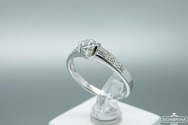 Sidabrinis žiedas - ZDM1454