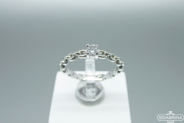 Sidabrinis žiedas - ZDM1461