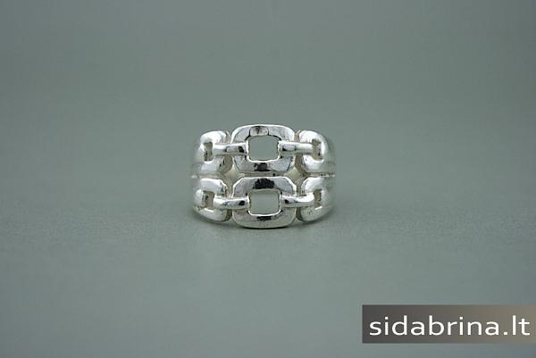 Sidabrinis žiedas - ZDM357