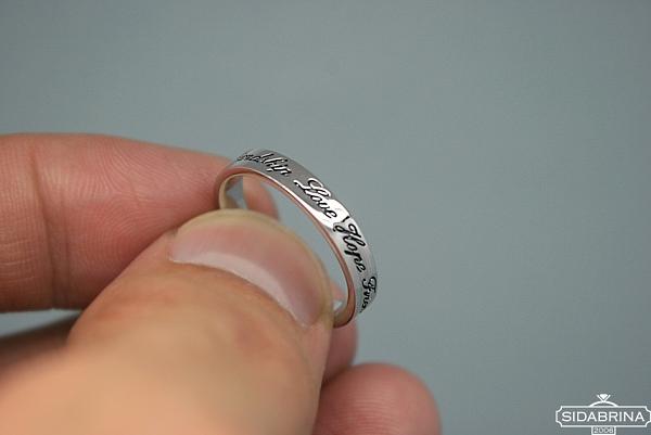 Sidabrinis žiedas - ZDM396