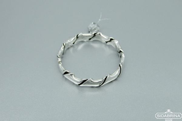 Sidabrinis žiedas - ZDM820