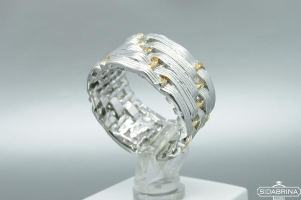 Sidabrinis žiedas - ZDM945