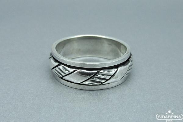 Sidabrinis žiedas - ZDV099