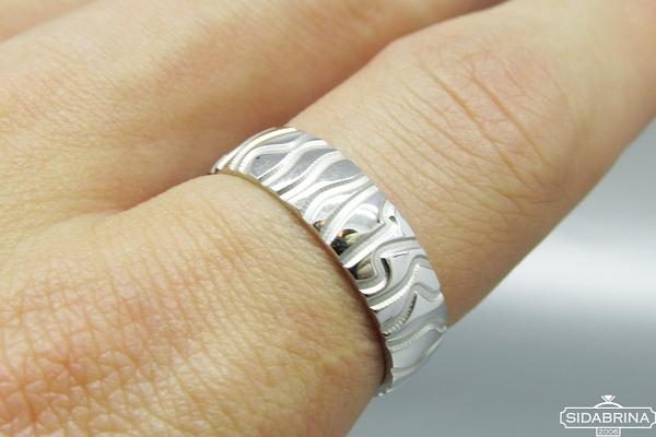 Sidabrinis žiedas - ZDV121