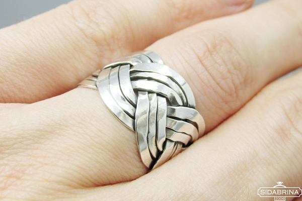 Sidabrinis žiedas - ZDV159
