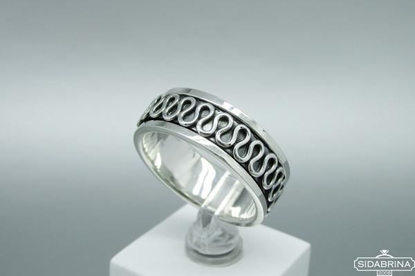 Sidabrinis žiedas - ZDV166
