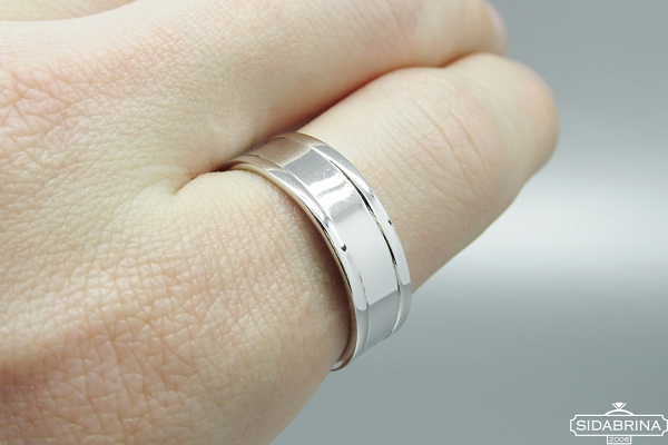 Sidabrinis žiedas - ZDV180