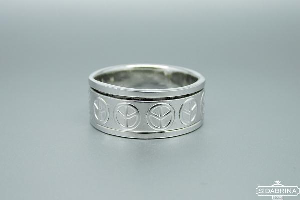 Sidabrinis žiedas - ZDV187