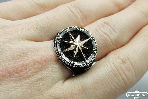 Sidabrinis žiedas - ZDV202
