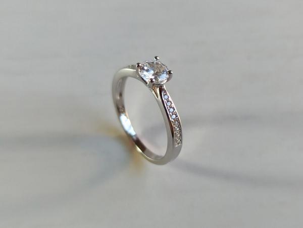 Sidabrinis žiedas - ZDM1571