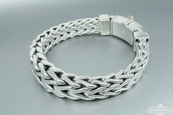 Vyriška sidabrinė apyrankė - APV099