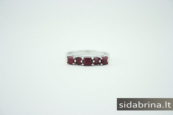 Žiedas su berilais - ZDM220